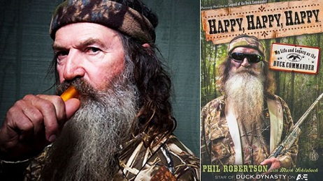 Duck Dynasty Star Phil Robertson Writes Autobiography
